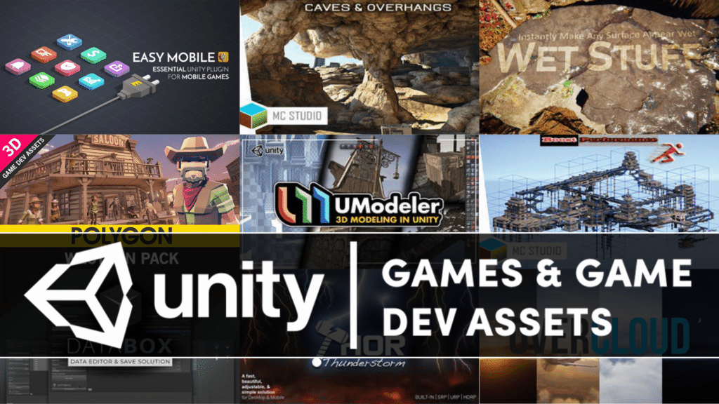 Unity Game And Game Dev Asset Bundle on Humble