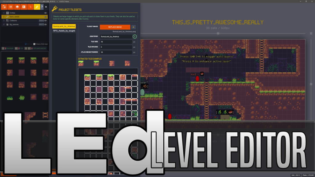 LEd Open Source Level Editor Released