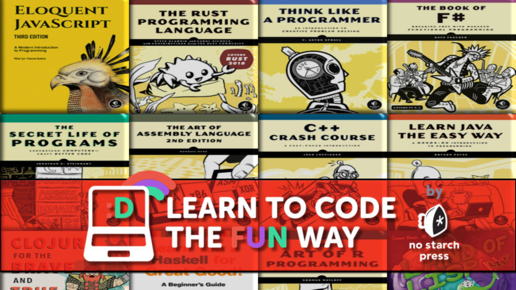 Humble Learn To Code by No Starch Press Programming Books Bundle