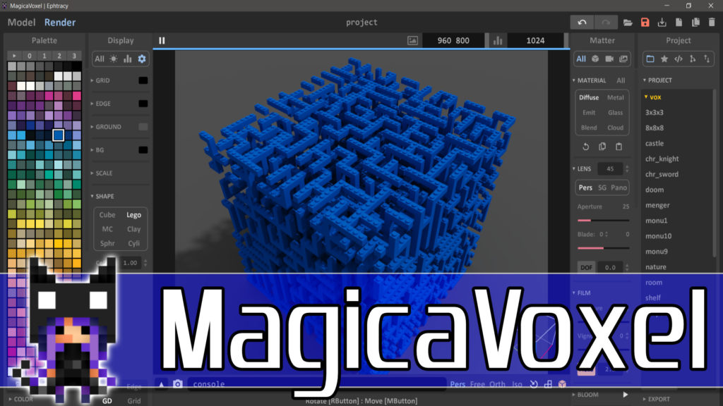 Magica Voxel New Release