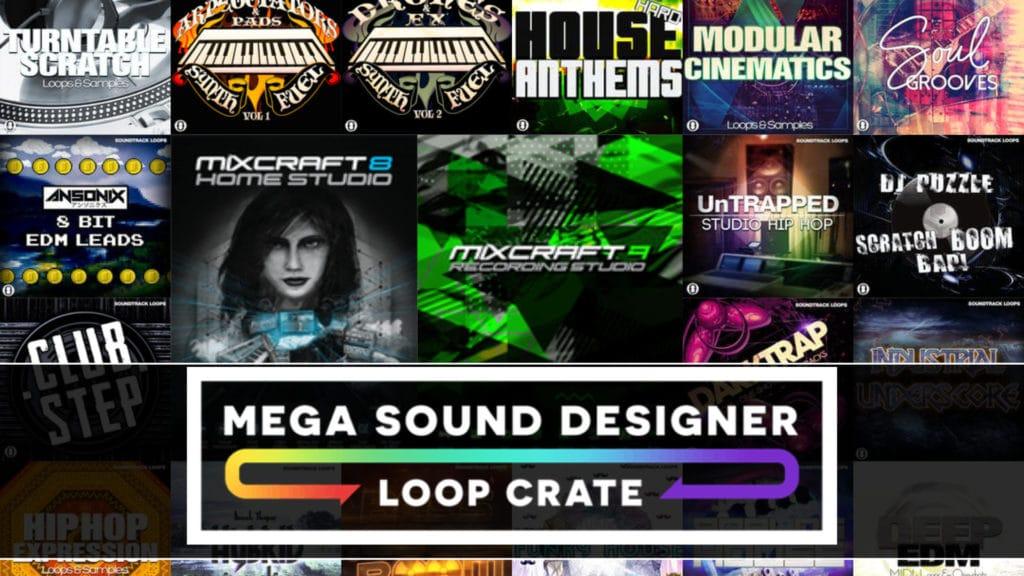 Mega Audio Samples and Loops Humble Bundle with MIxcraft DAW