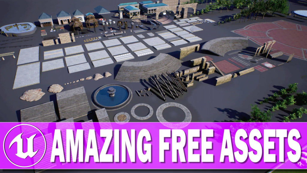 Unreal Engine free City Asset Pack Hands-On