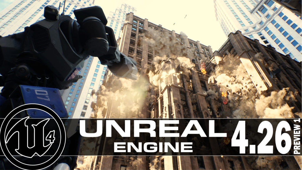 Unreal Engine 4.26 with all new Chaos Physics