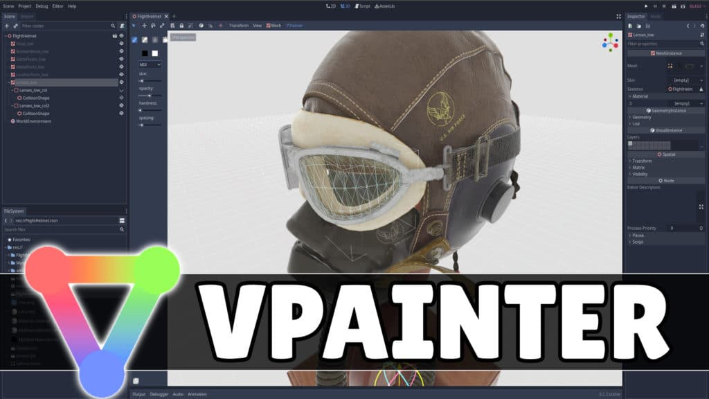 Godot VPainter Add-On