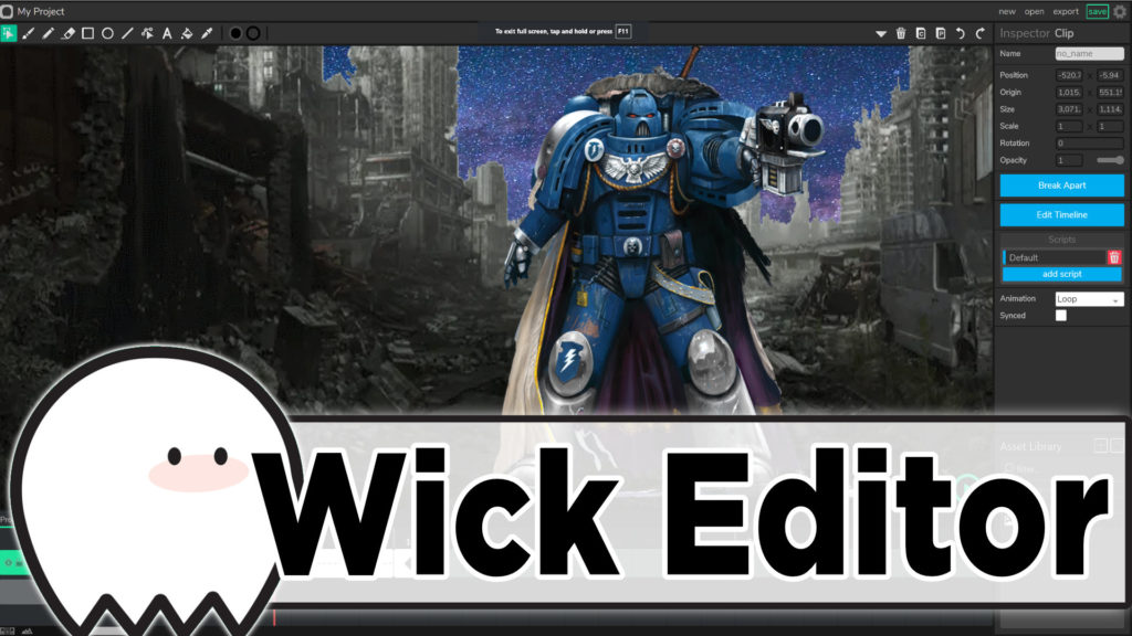 Wick Editor Animation Tool and Game Engine Reviewed