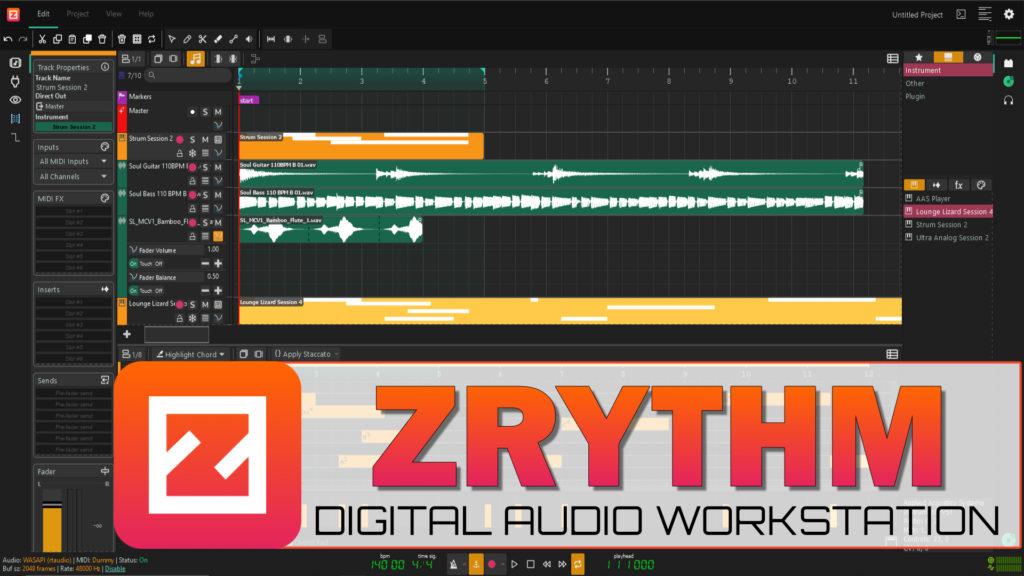 ZRythm DAW Review