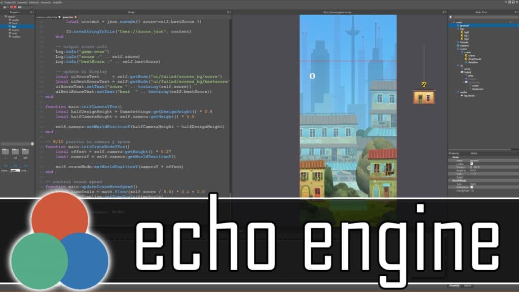 The Echo Game Engine hands-on review