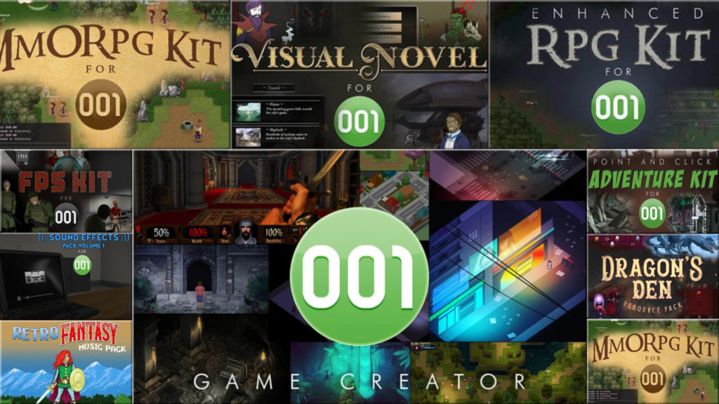 001 Game Creator Bundle on Humble