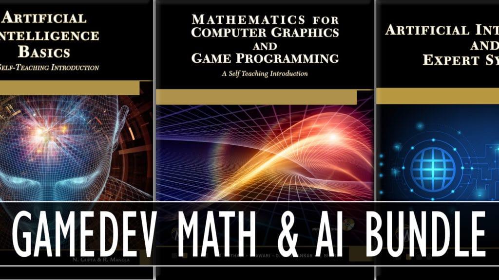 Humble GameDev Math and AI Books by Mercury Bundle