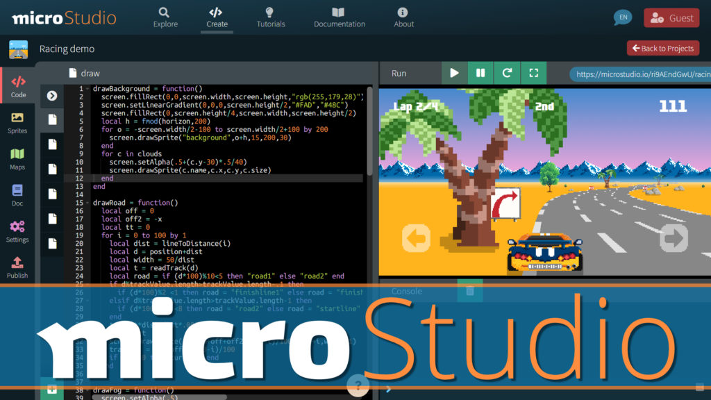microStudio HTML5 Game Engine Review