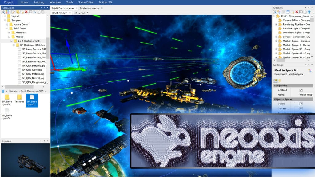 NeoAxis Game Engine