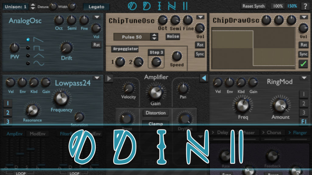 Odin 2 open source free synth based on JUCE
