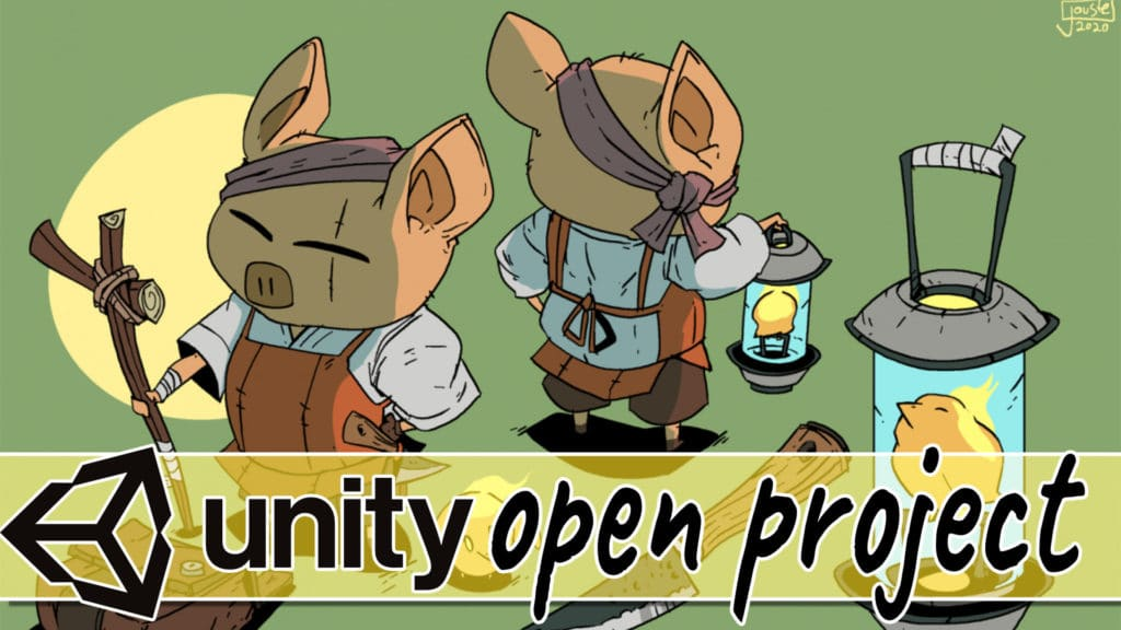 Unity launch Open Projects community game development
