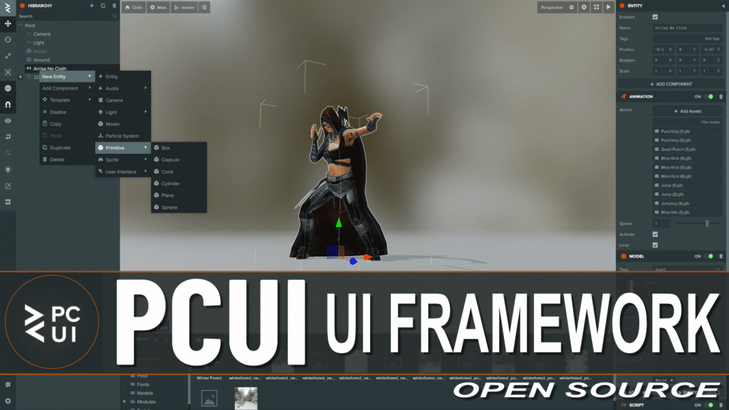 PCUI Open Source UI Framework Released
