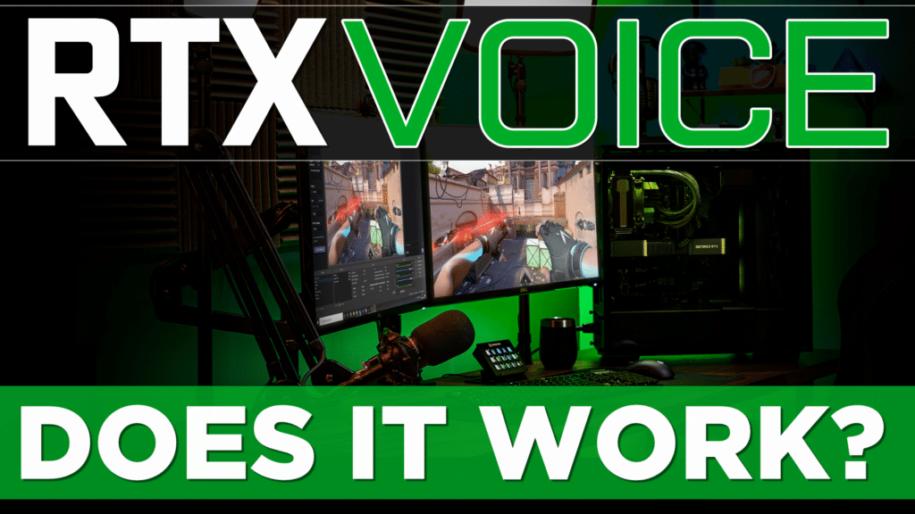NVIDIA RTX Voice Hands-ON Review... Does it work?