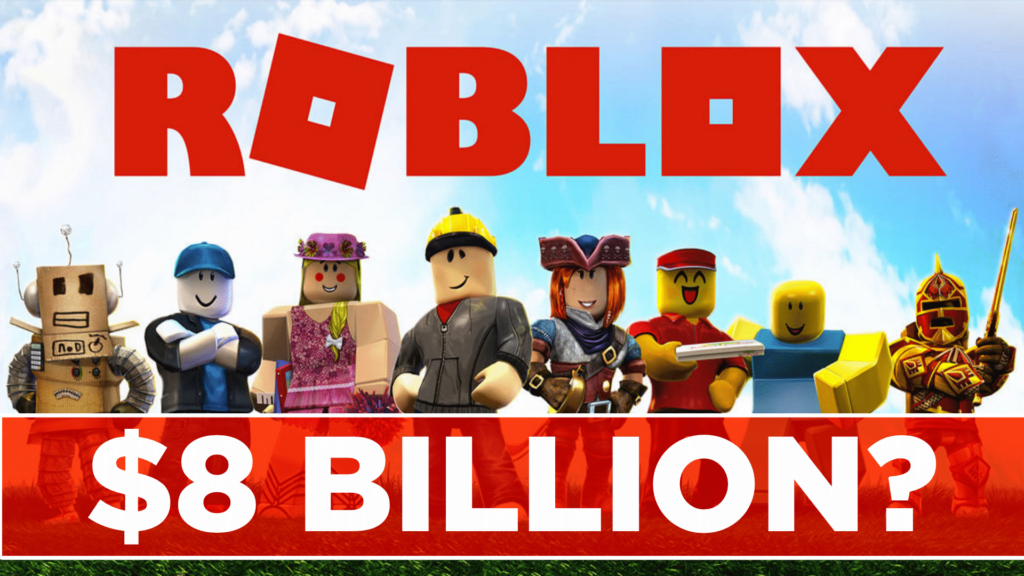Roblox going public with an 8B IPO