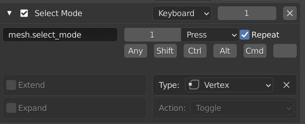 Remapping keys in Blender detailed