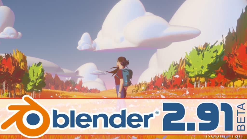 Blender 2.91 Beta Hands-On