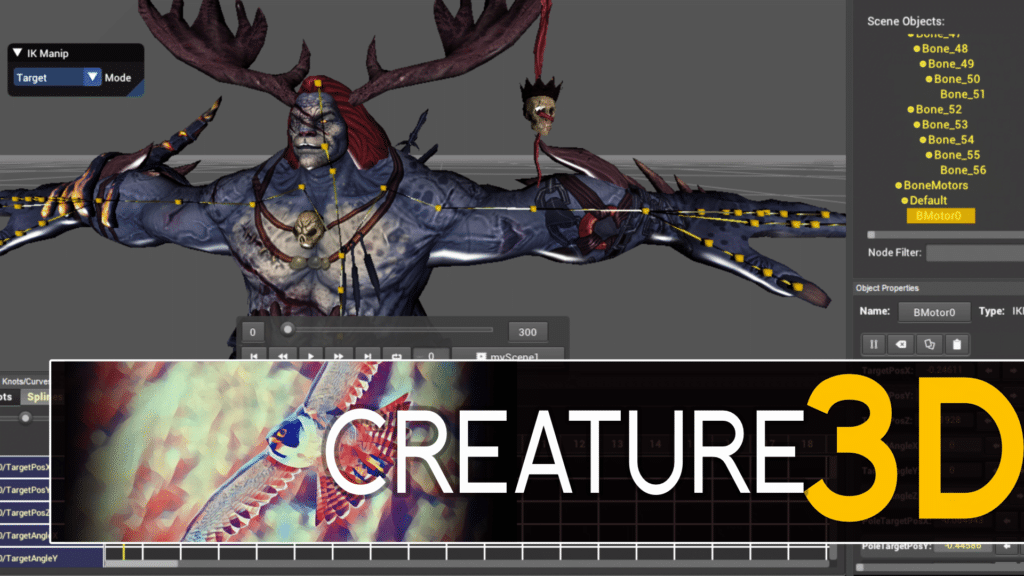 Creature 3D Animation Software from Kestrel Moon Software