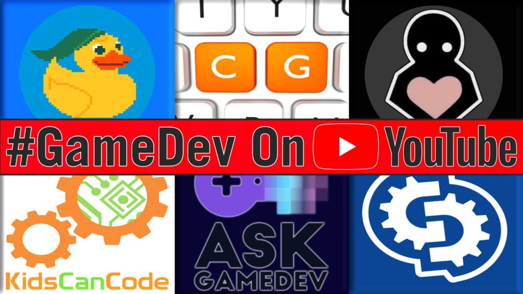 6 Great Game Development Channels on YouTube