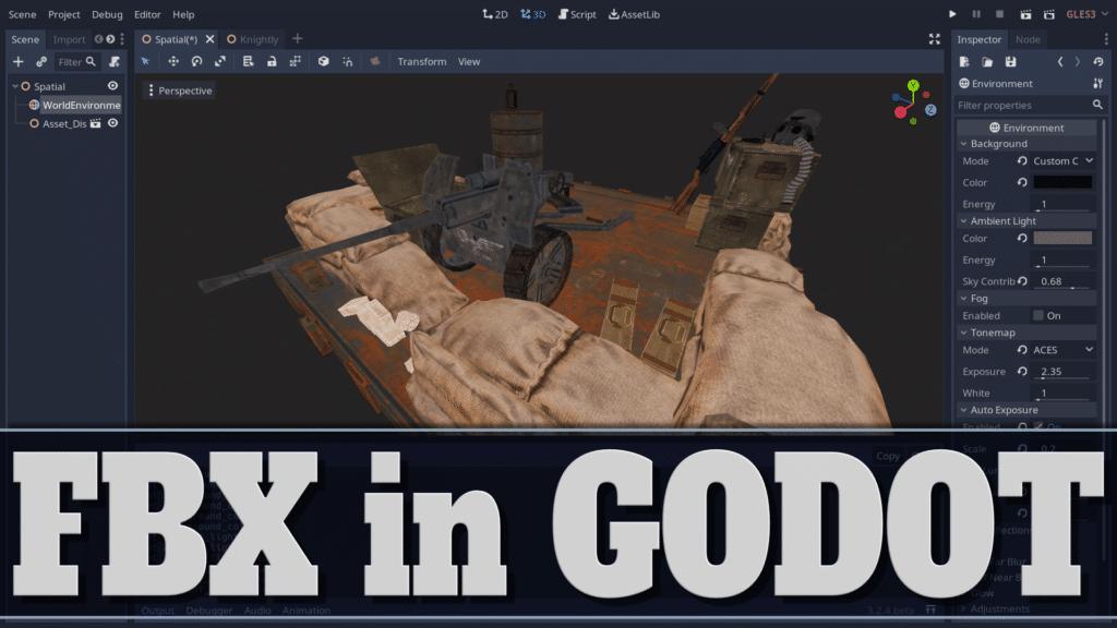 Godot 3.2.4 Gets New FBX Importer