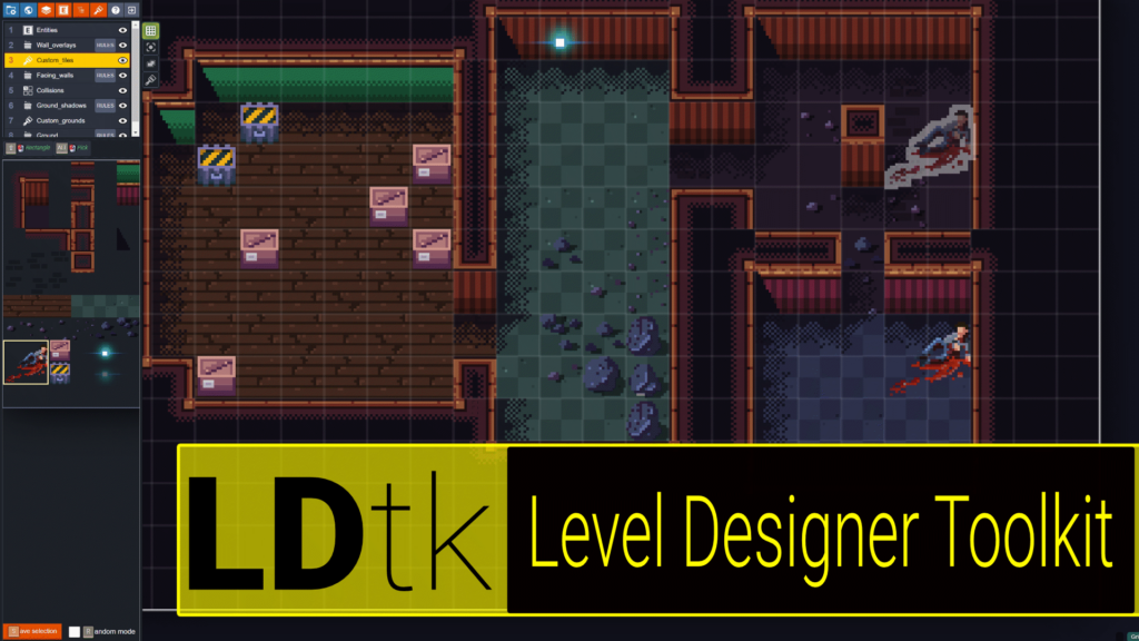 LDtk The Level Design ToolKit 2D Open Source Level Editor