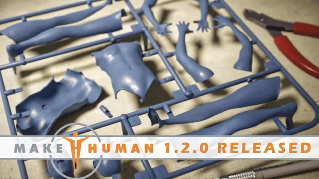 MakeHuman 1.2.0 Released