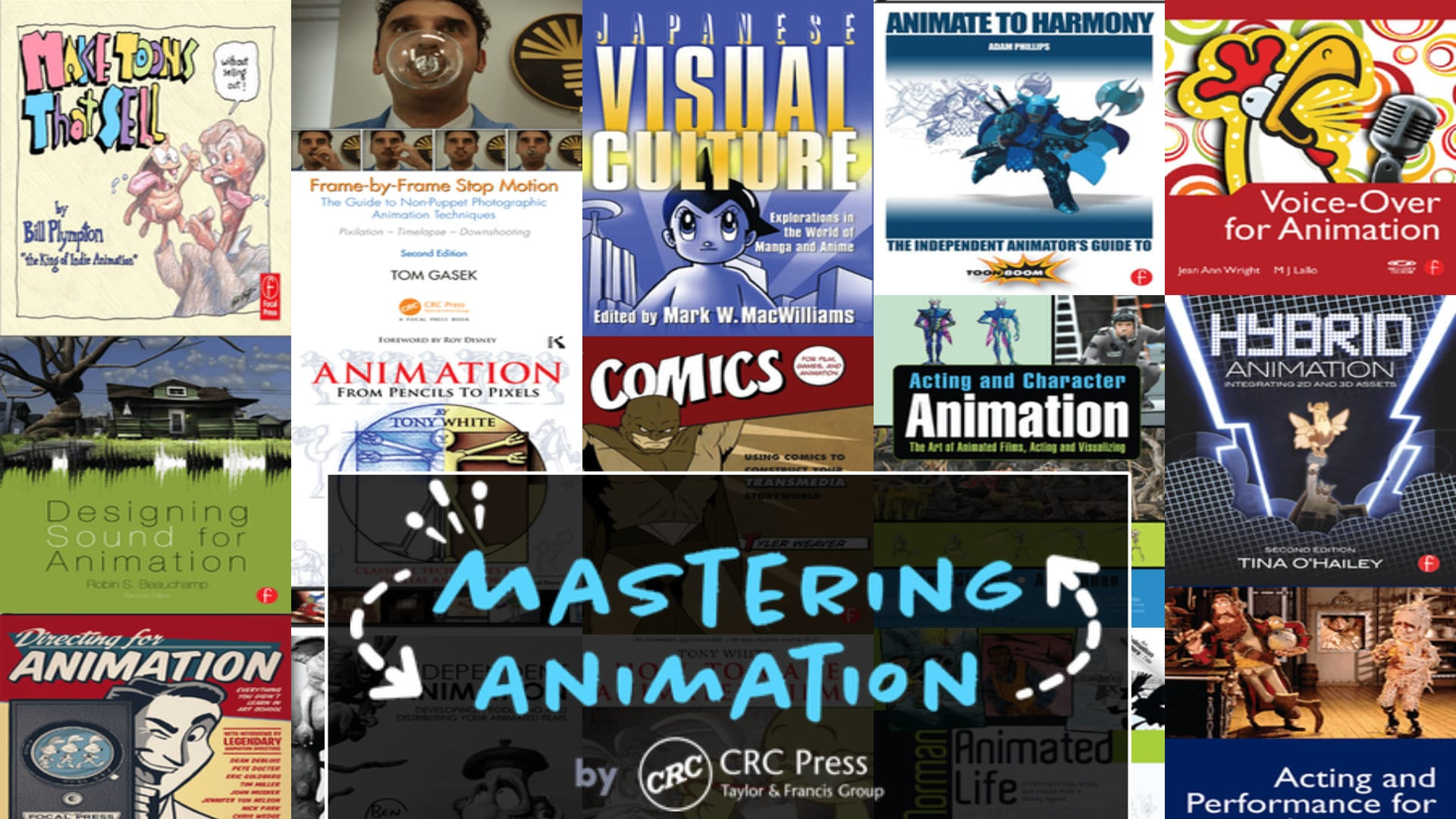 Mastering Animation by CRC Press Humble Bundle