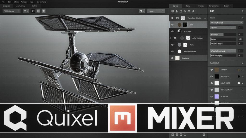 Quixel Mixer 2020 Release