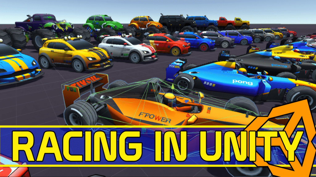 Racing Assets in Unity MegaBundle X