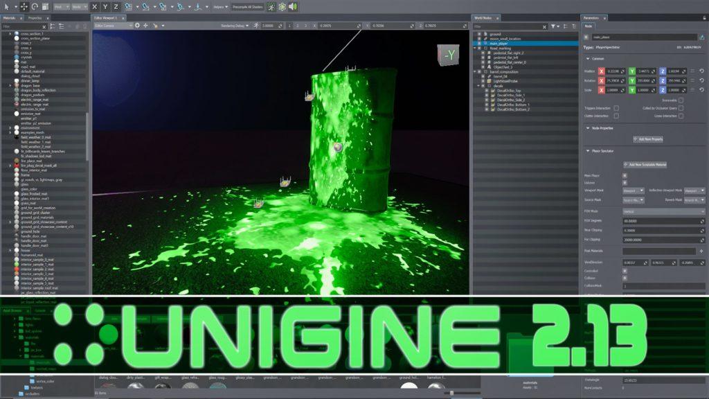 Unigine 2.13 Released