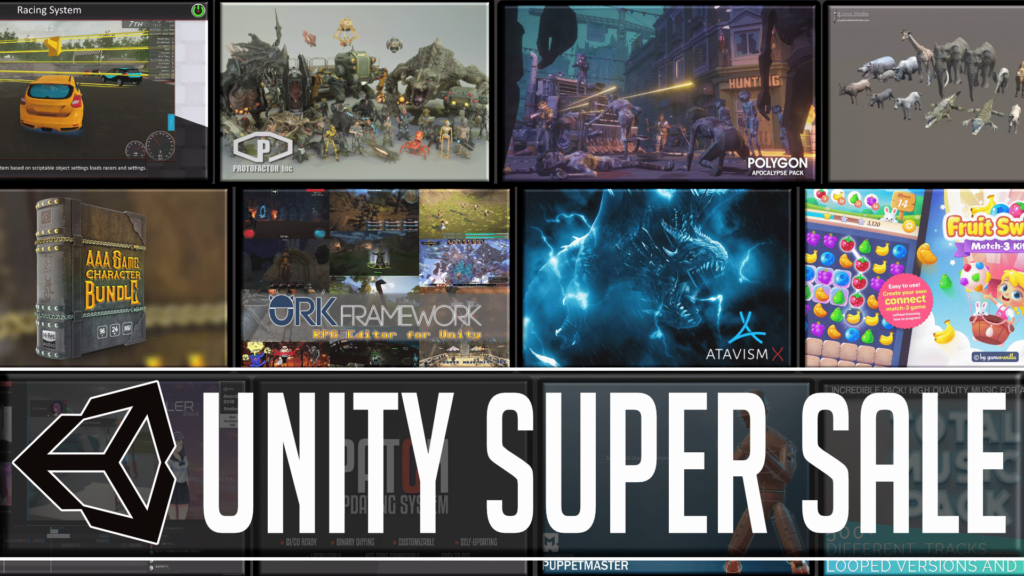 Unity Super Sale Black Friday 2020