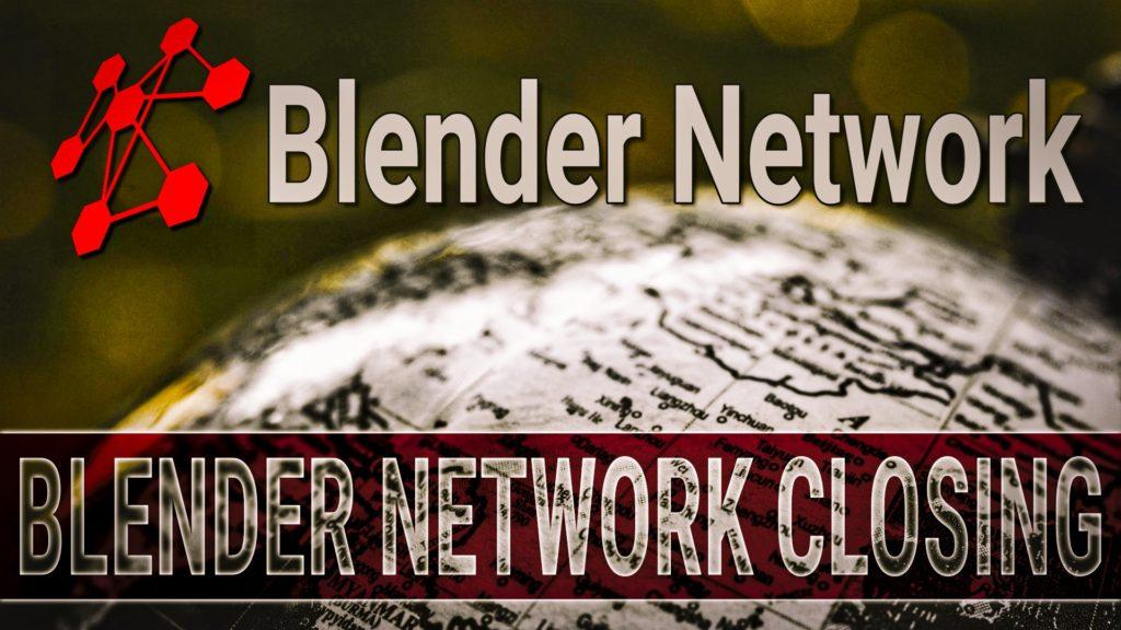 Blender Network by Blender is being shutdown
