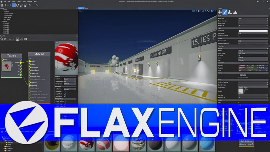 Flax Engine 1.0 Released