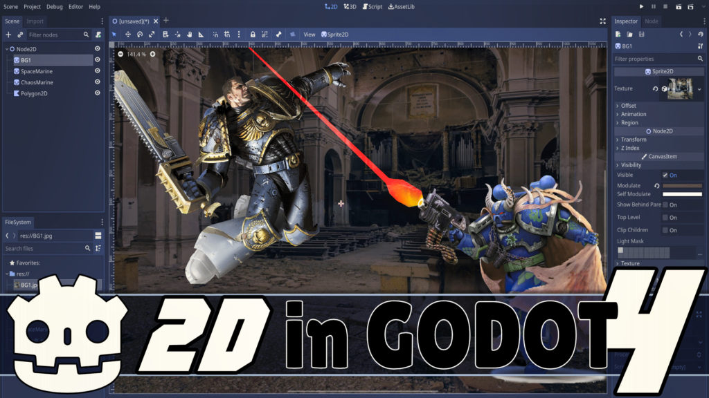 New 2D Features in Godot 4