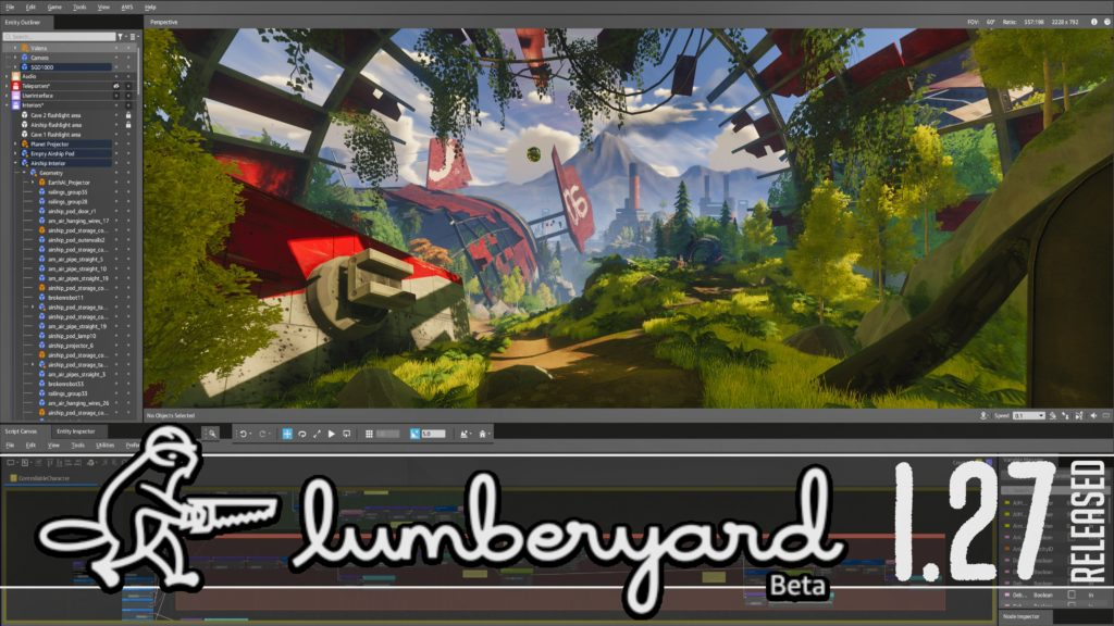 Lumberyard 1.27 Released by Amazon