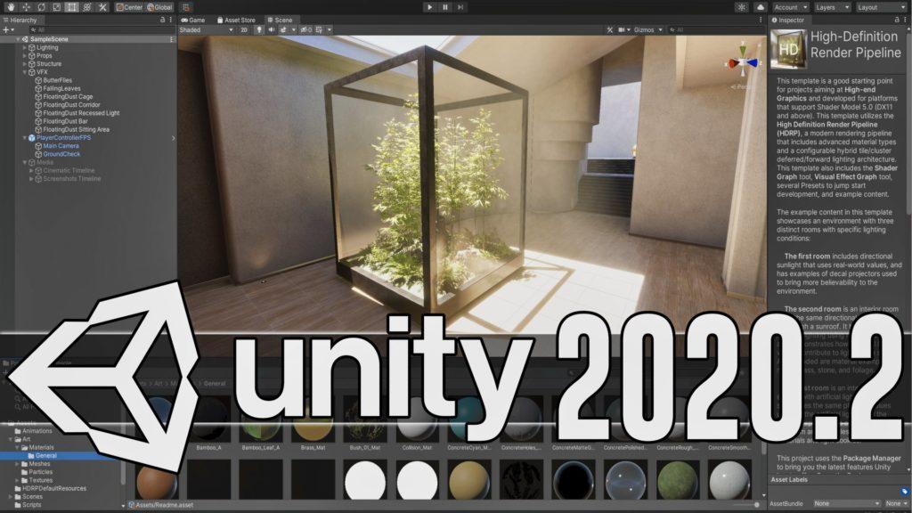 Unity 2020.2 Released
