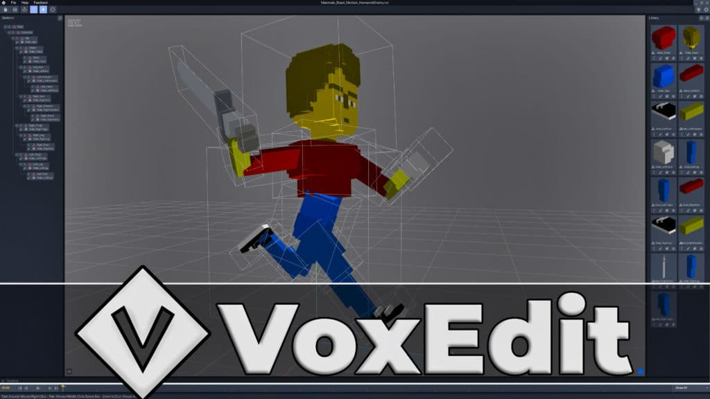 VoxEdit Beta Hands-On Review