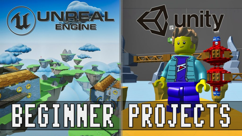 Unreal And Unity Beginner Projects