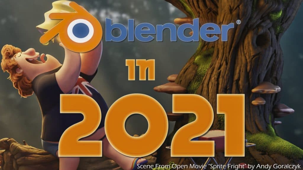 Blender New Features in 2021