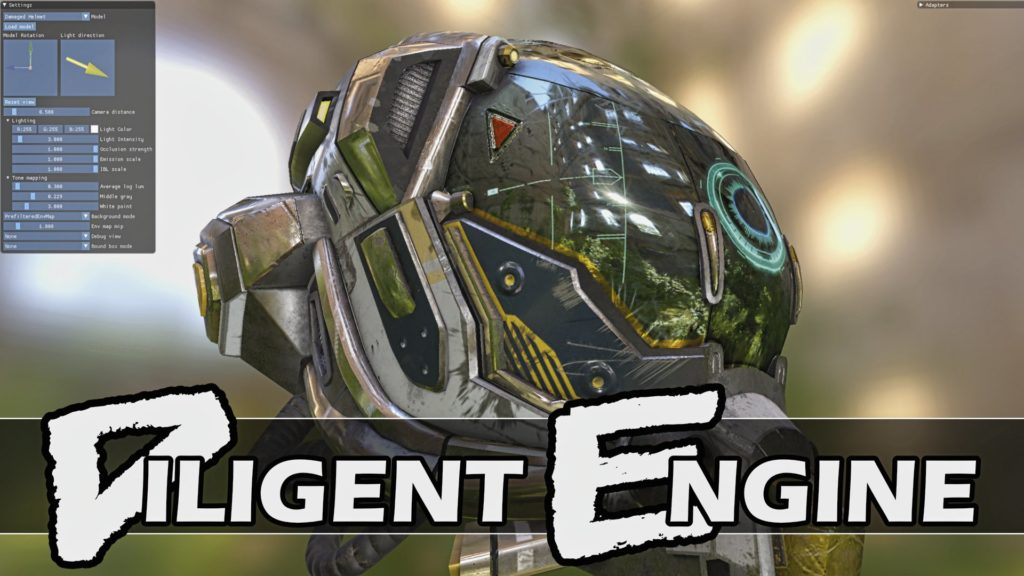 Diligent Engine 2.4.g release adds raytracing support