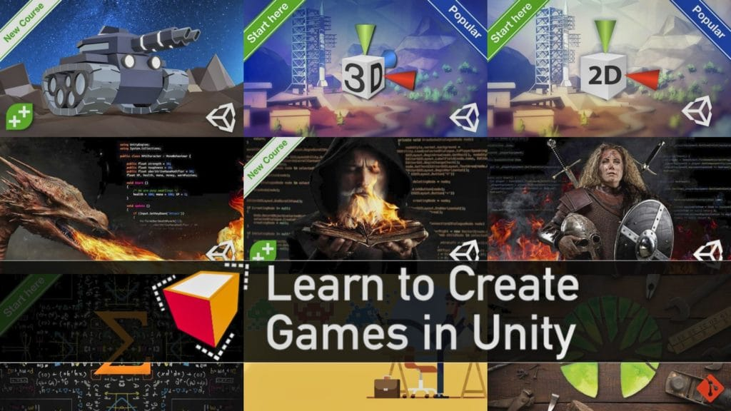 Learn to Create Games in Unity Humble Bundle