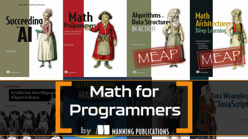Math for Programmers by Manning Humble Bundle