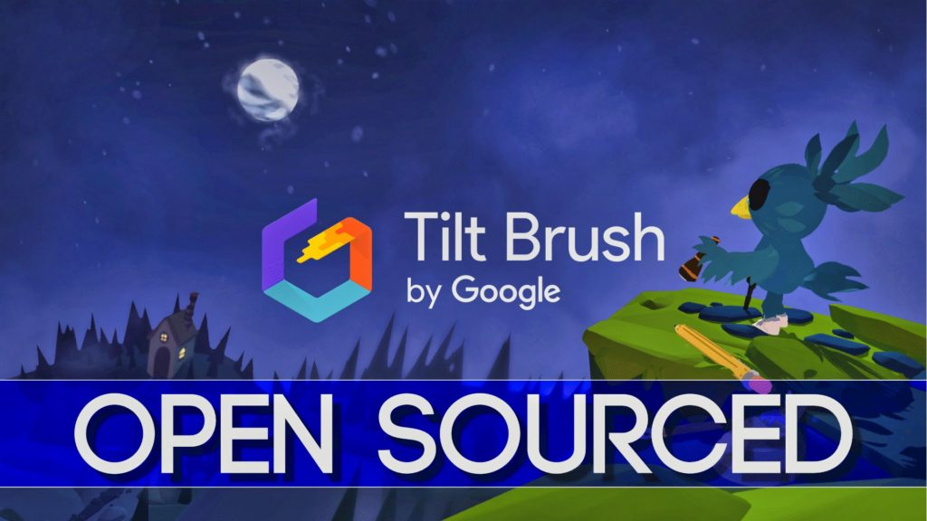 Google Open Source the Unity based Tilt Brush VR painting app