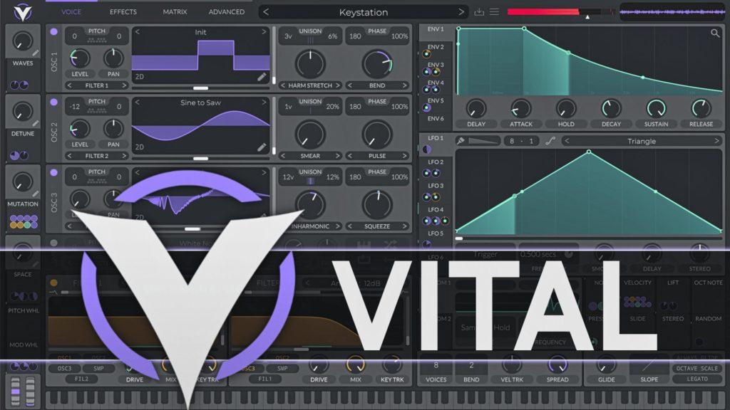 Vital Free Synth DAW VST