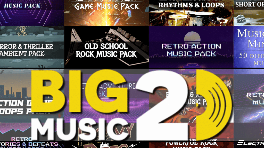 Humble Big Music 2 Bundle Soundtracks and Loops Audio On Now