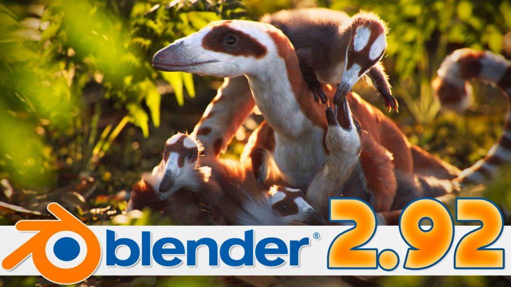 Blender 2.92 Released
