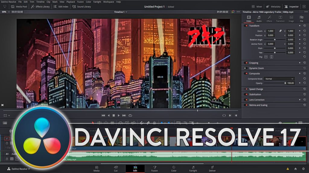DaVinci Resolve 17 Released