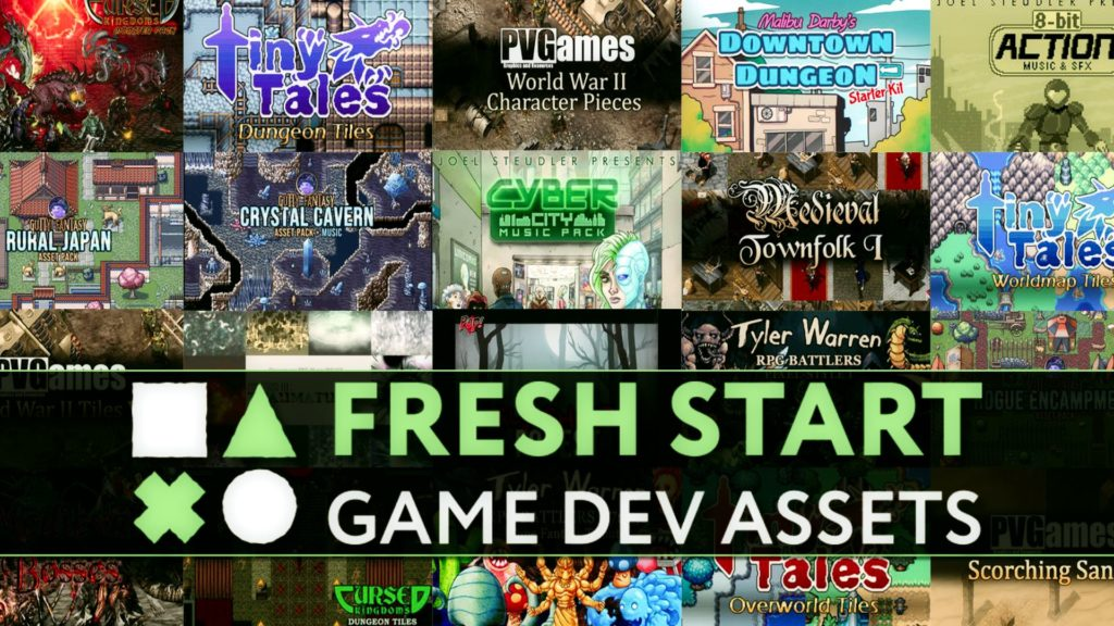 Fresh Start GameDev Humble Bundle