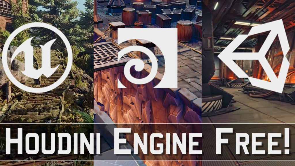 Houdini Engine Free For Unreal and Unity Developers